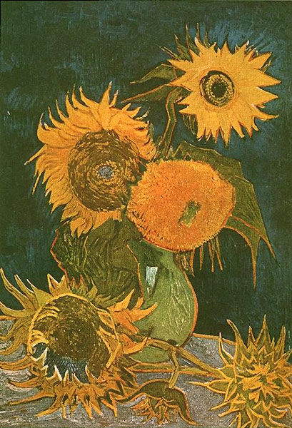 five-sunflowers